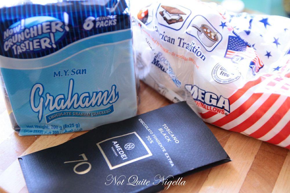 s\'mores ice cream sandwich