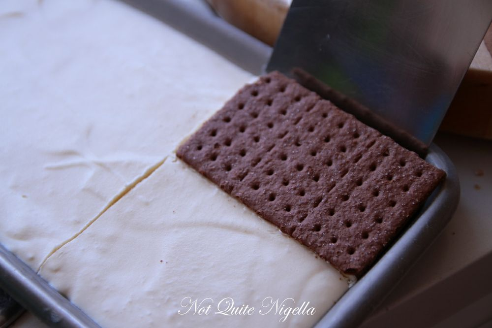 s\'mores ice cream sandwich