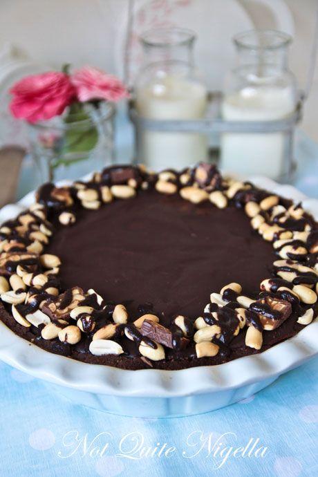 snickers pie recipe