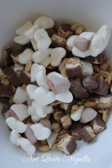 snickers rocky road