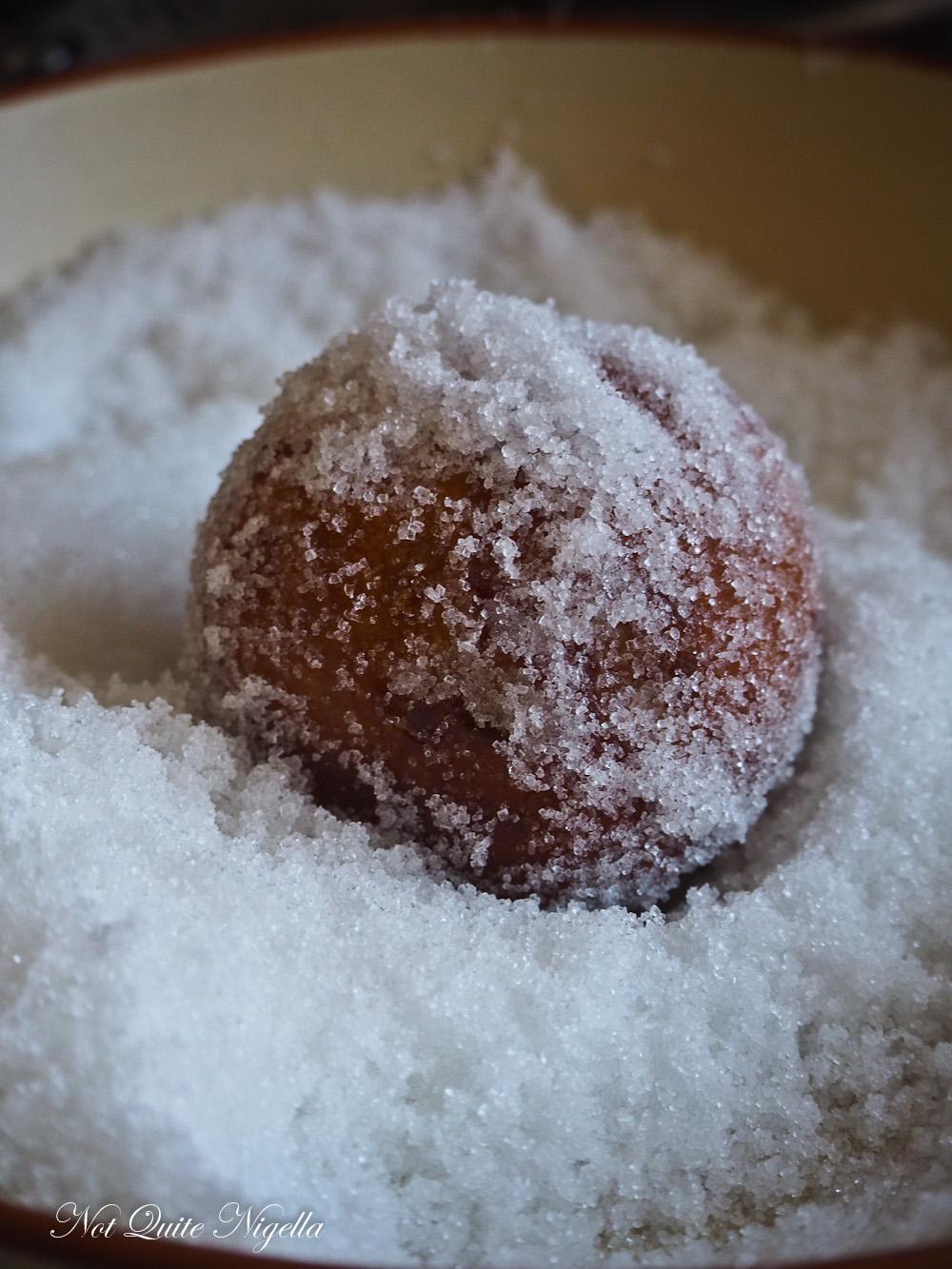 Yeasted Donut Jam Sour Cream