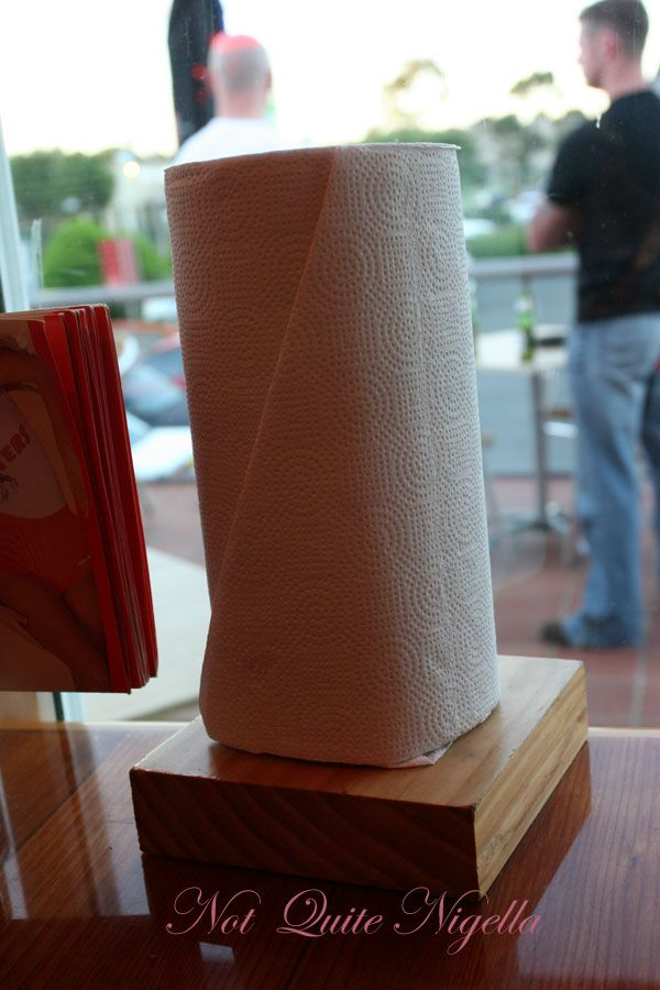 Hooters paper towels