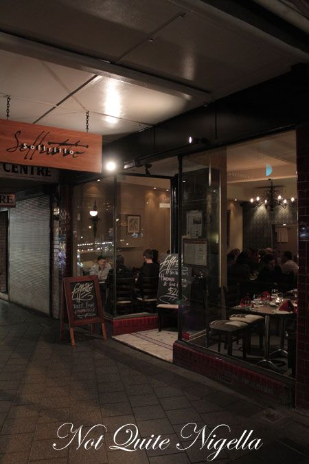 soffritto, newtown, review