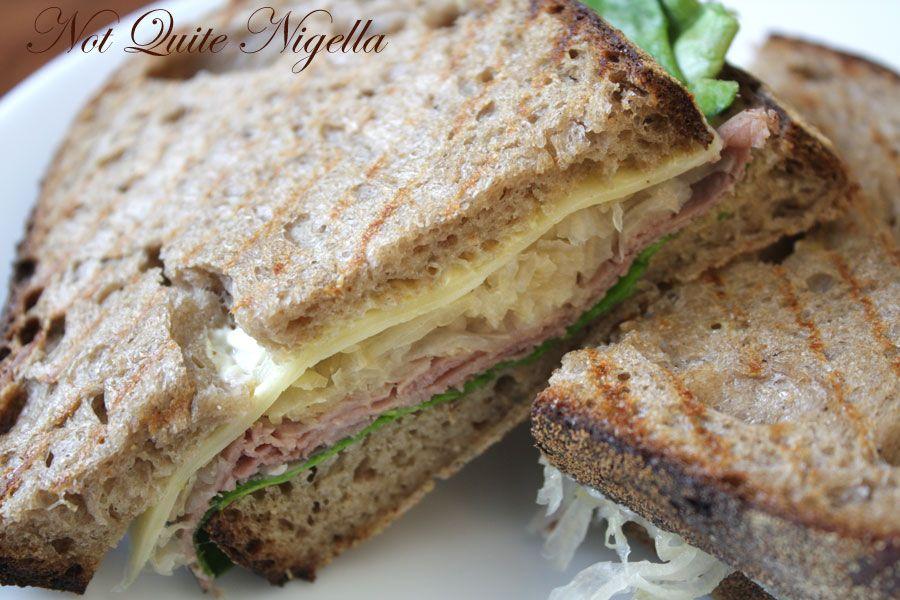 Sonoma Bakery Cafe at Glebe Reuben sandwich