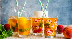 Long Hot Summer - Peach Sorbet Iced Tea