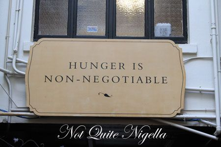 hunger non negotiable