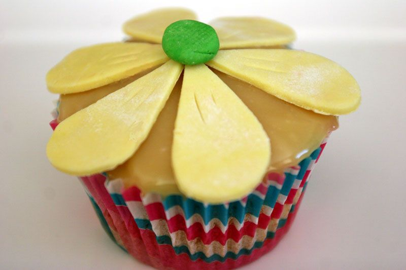 Sour Cream Banana cake cupcakes