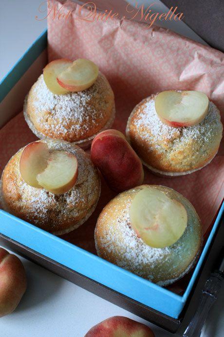 donut peach cupcakes 2