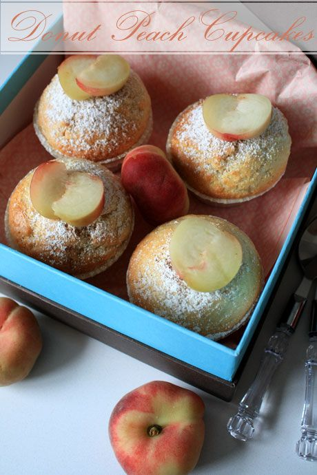 donut peach cupcakes 6