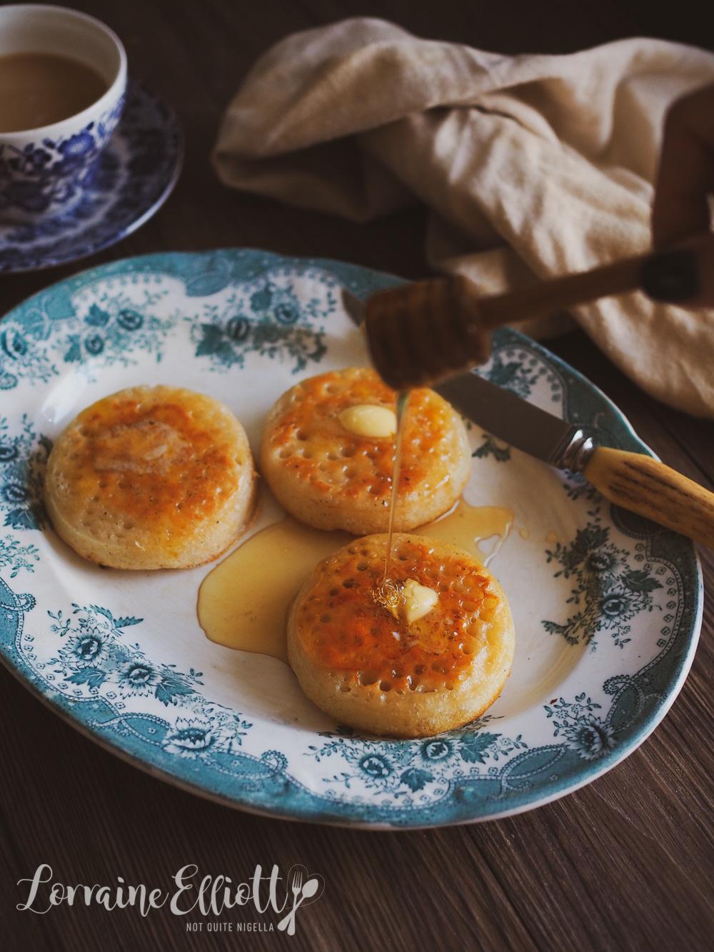 Sourdough Crumpets recipe