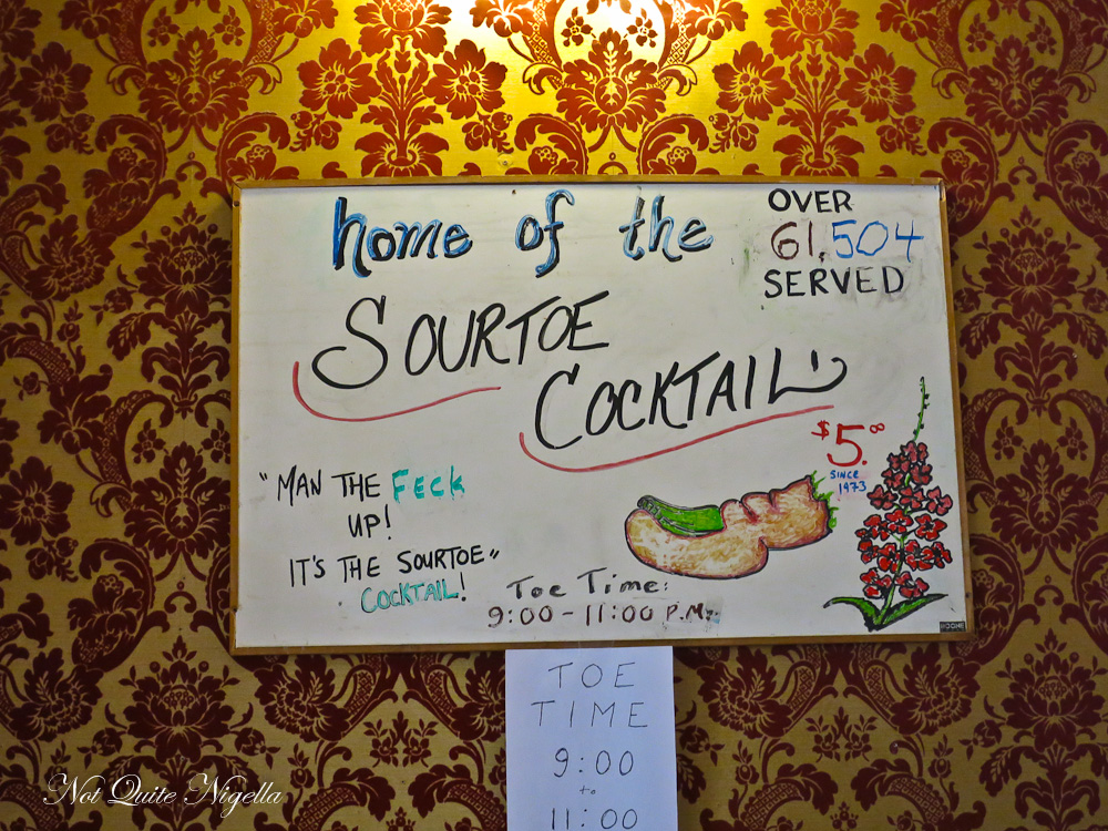 Dawson City Sourtoe Cocktail