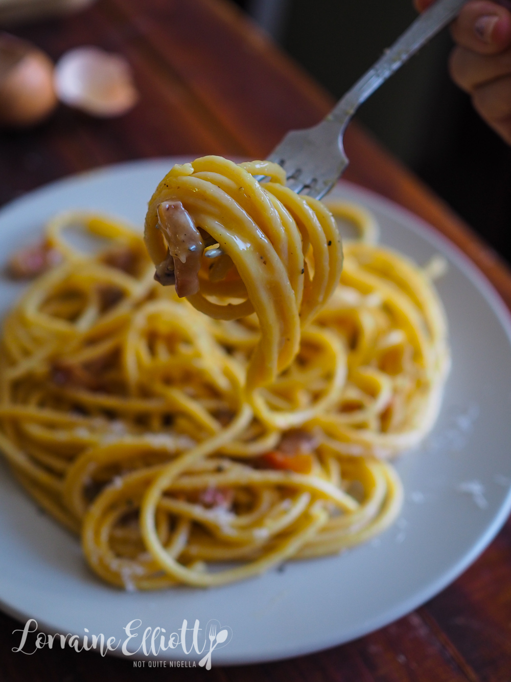 The BEST Spaghetti Pasta Carbonara
