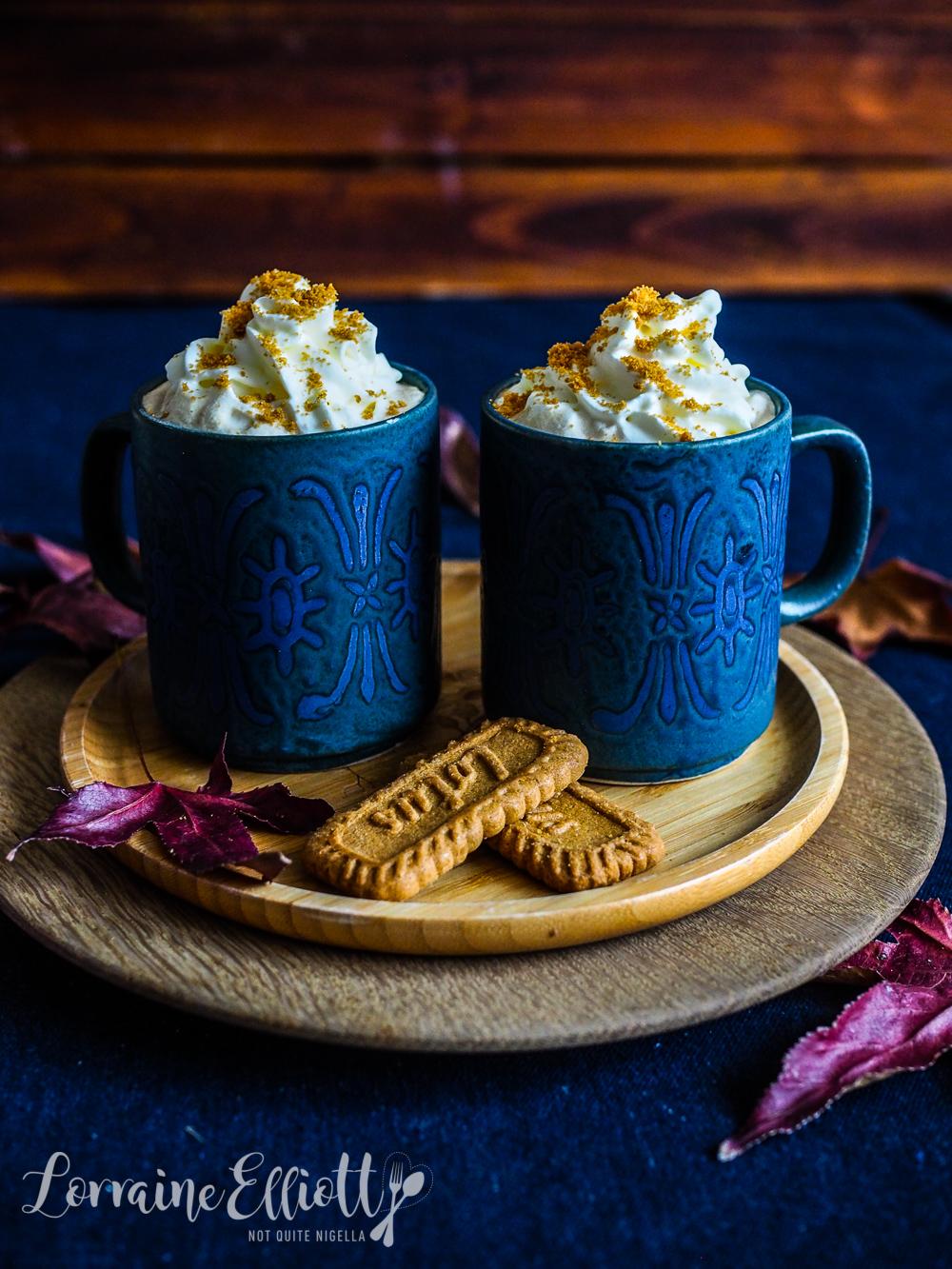 Speculatte aka Speculoos Cafe Latte Drink
