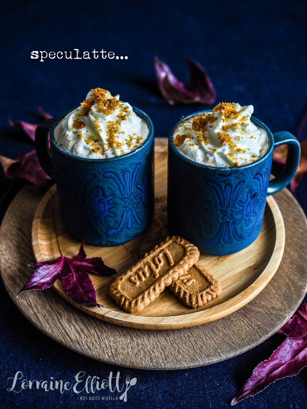 Speculatte aka Speculoos Cafe Latte Drink