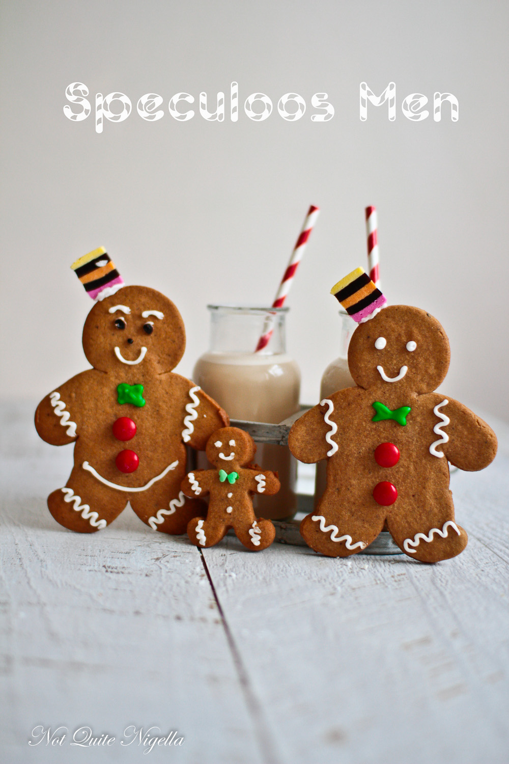 Christmas Cookie Central Speculoos Gingerbread Men