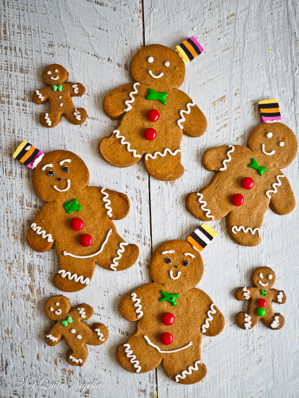 Speculoos gingerbread men