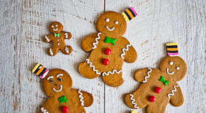 Christmas Cookie Central: Speculoos Gingerbread Men!