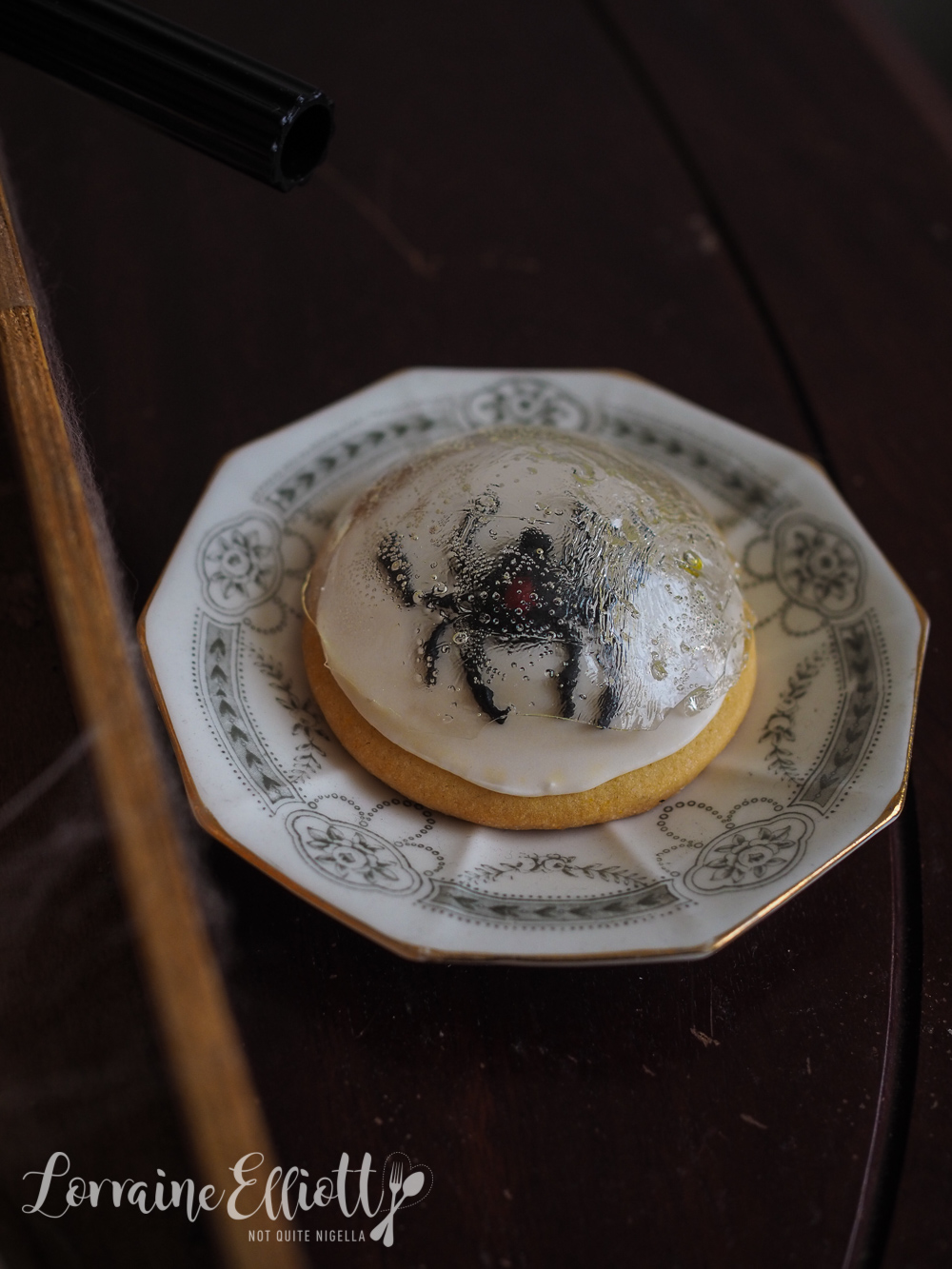 Spider Cookies Halloween