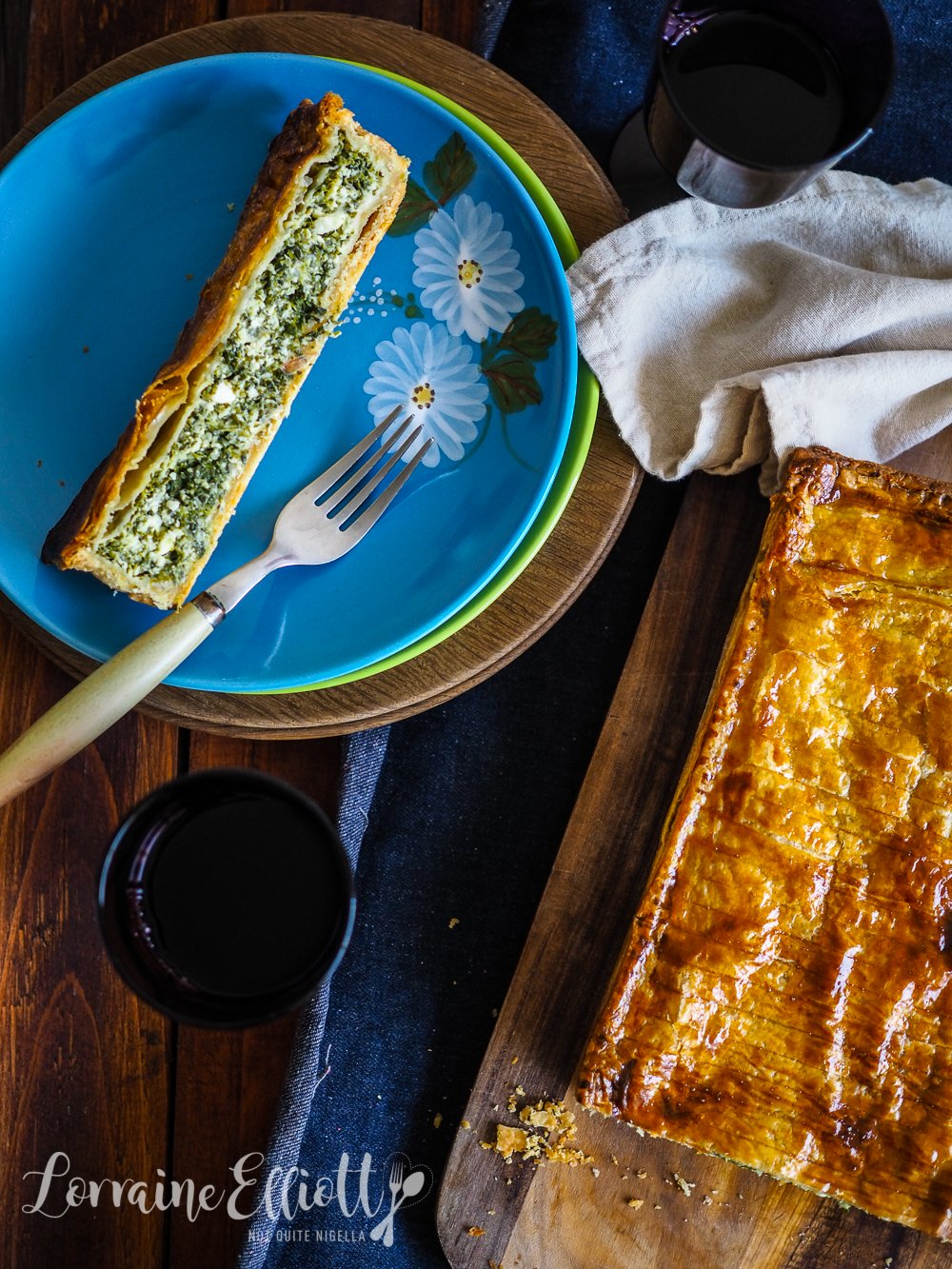 Cheese Spinach Pie