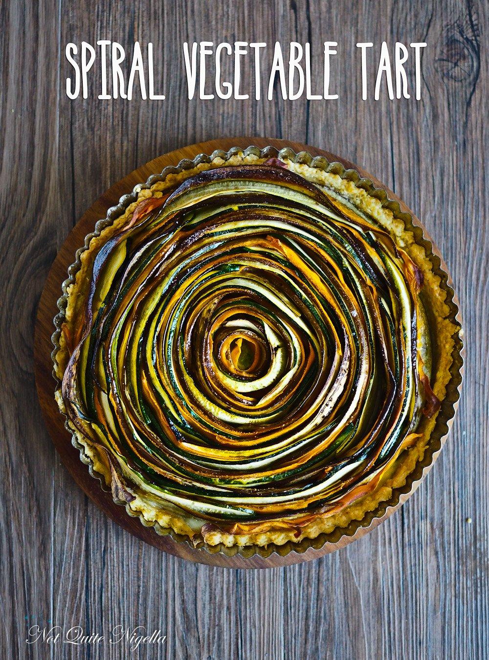 SpiralVegetable Tart