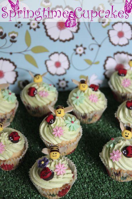 Springtime Mango & Poppyseed Cupcakes & Teeny, Tiny Moments of Happiness