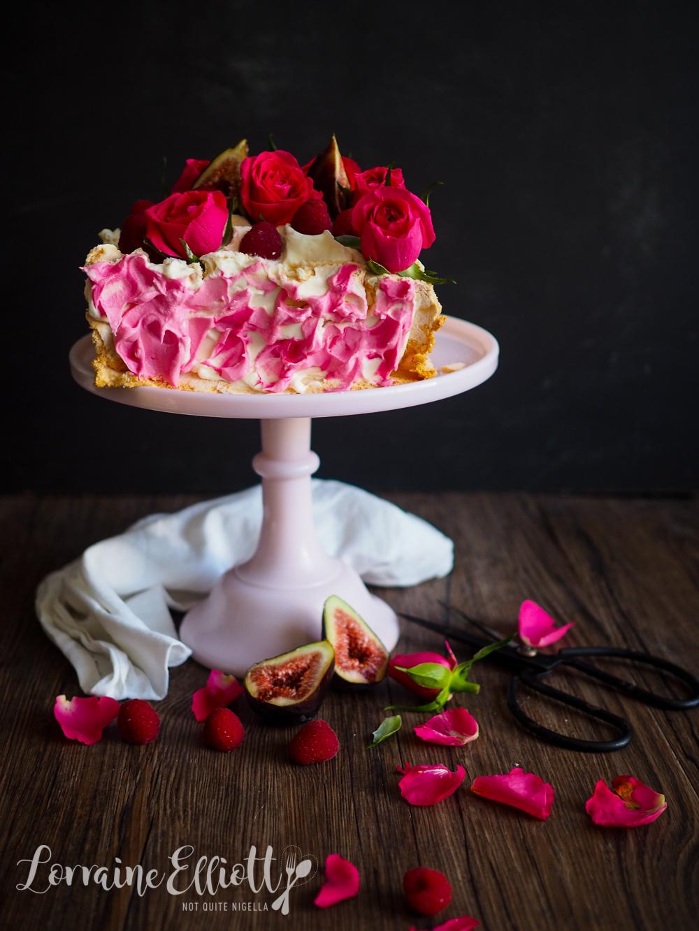Square Pavlova, Mother's Day cake
