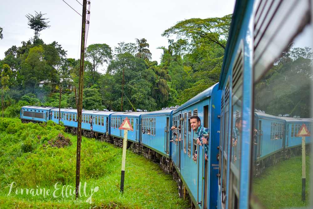 Blue Train Kandy To Ella, Sri Lanka