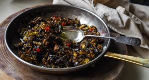 Sticky Sri Lankan Eggplant Relish Brinjal Moju