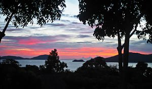 Spectacular Salmon Sunsets at Sri Panwa, Phuket