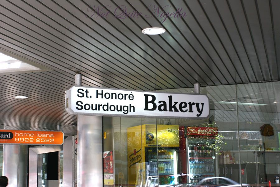 St Honore Sourdough bakery at North Sydney