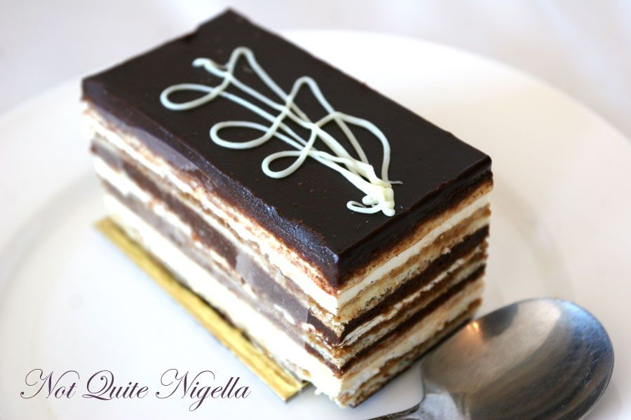 St Honore Sourdough bakery at North Sydney Opera cake