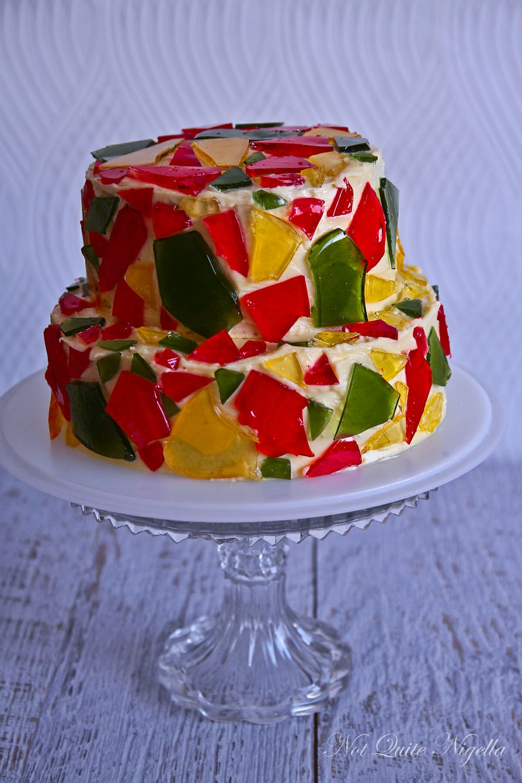 Celebration Stained Glass Cake!