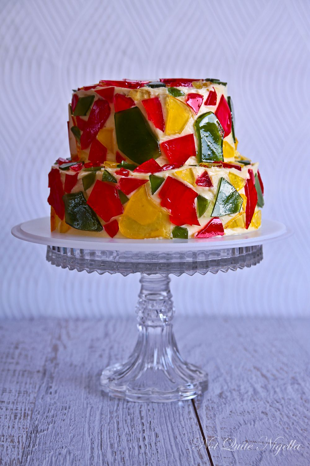 Celebration Stained Glass Cake!