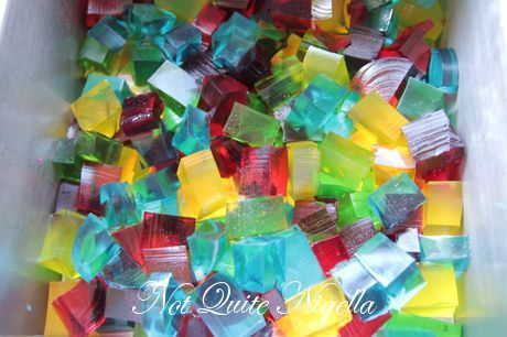 stained glass jelly