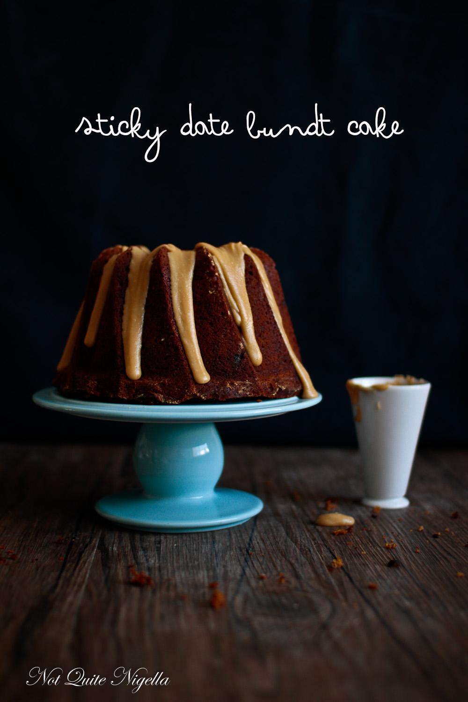 Sticky Date Bundt Cake
