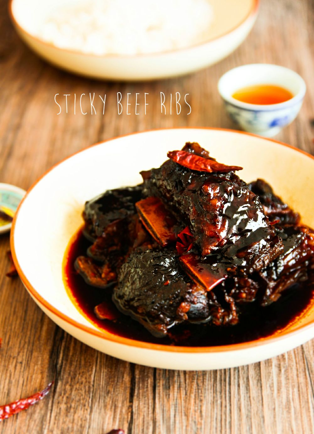Sticky Glazed Asian Beef Short Ribs Not Quite Nigella