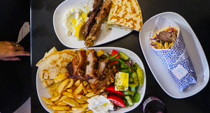 Greek Lessons at Stix and Pita, Enmore