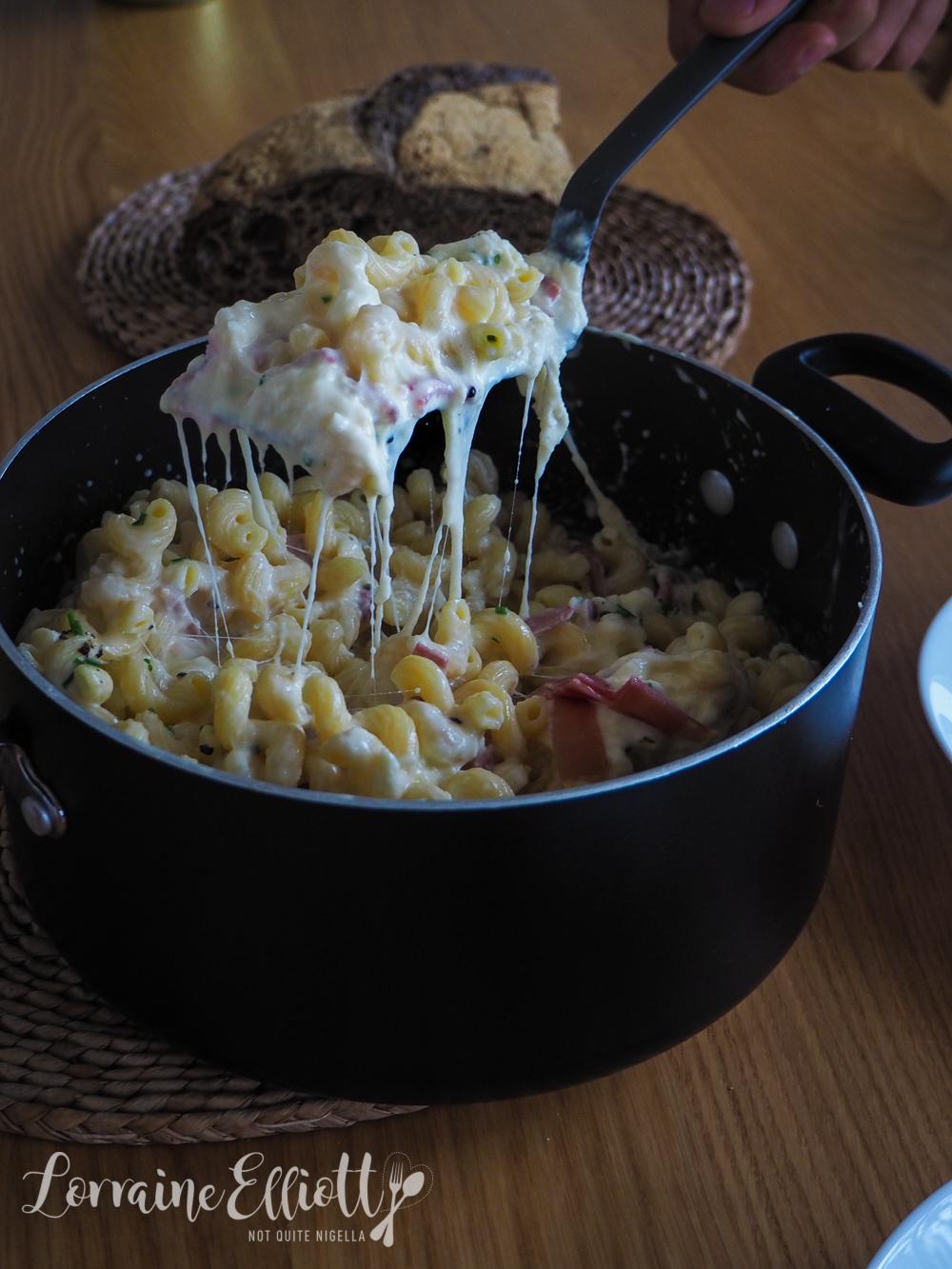 Stracciatella Mac & Cheese