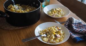 DELICIOUS Stovetop Stracciatella Mac & Cheese!