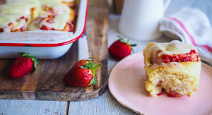 SOFTEST Strawberry Cinnamon Buns