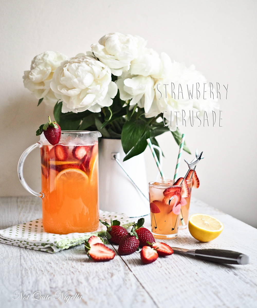 Strawberry Lemonade Citrusade Recipe