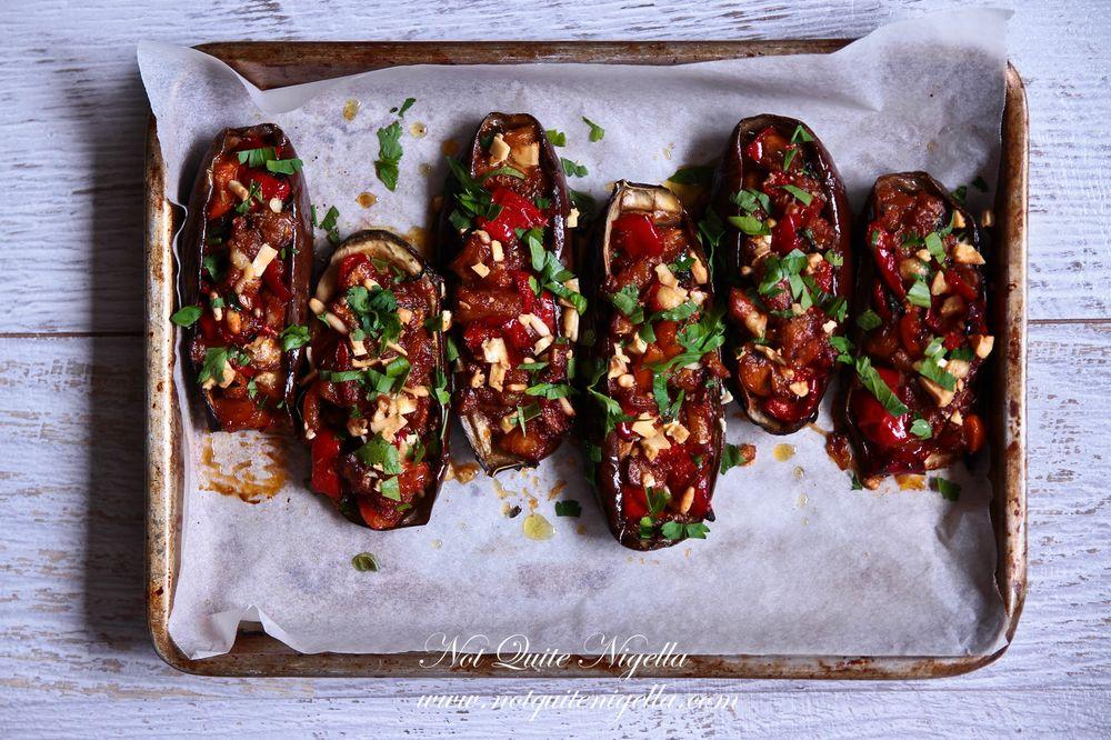 Stuffed Eggplant - Imam Bayildi