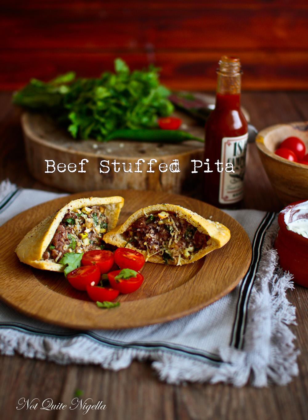 Stuffed Pita Bread Hawawshi