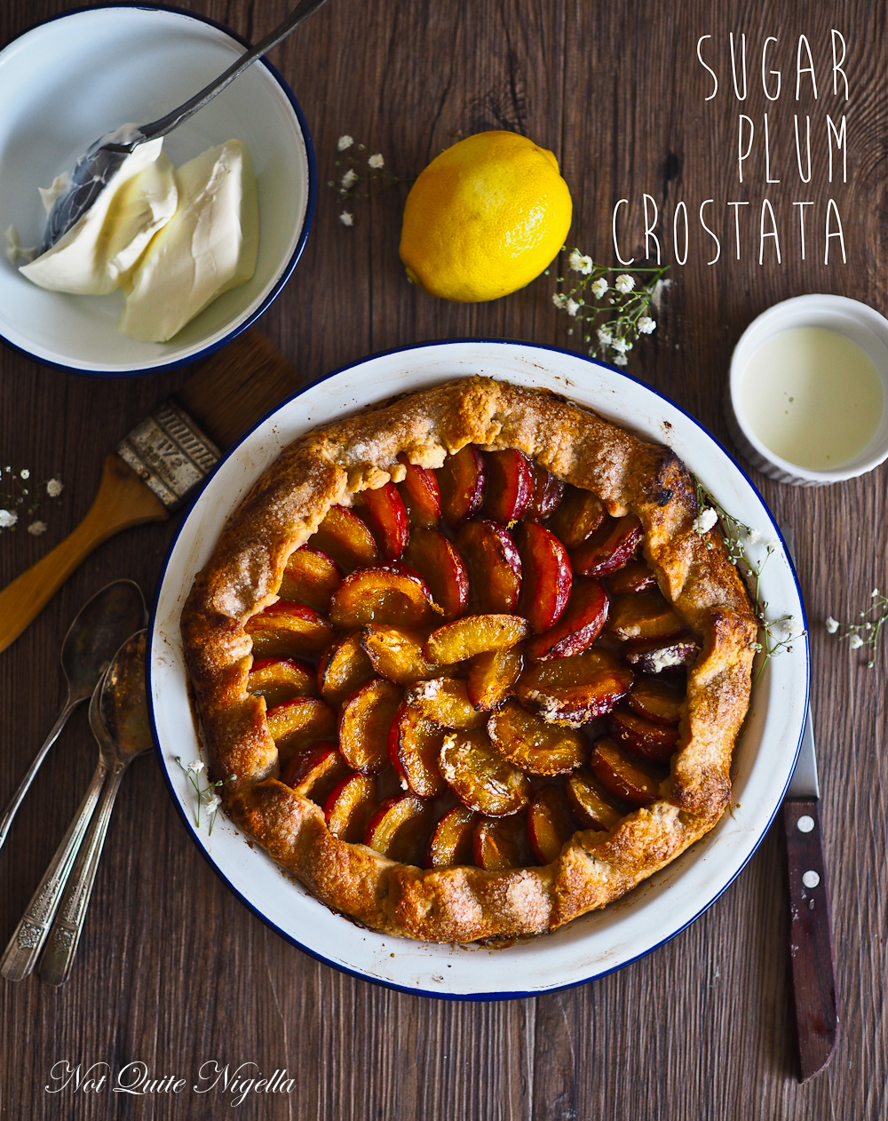 Sugar Plum Crostata
