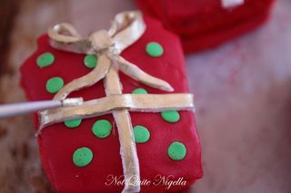 surprise gift cookies
