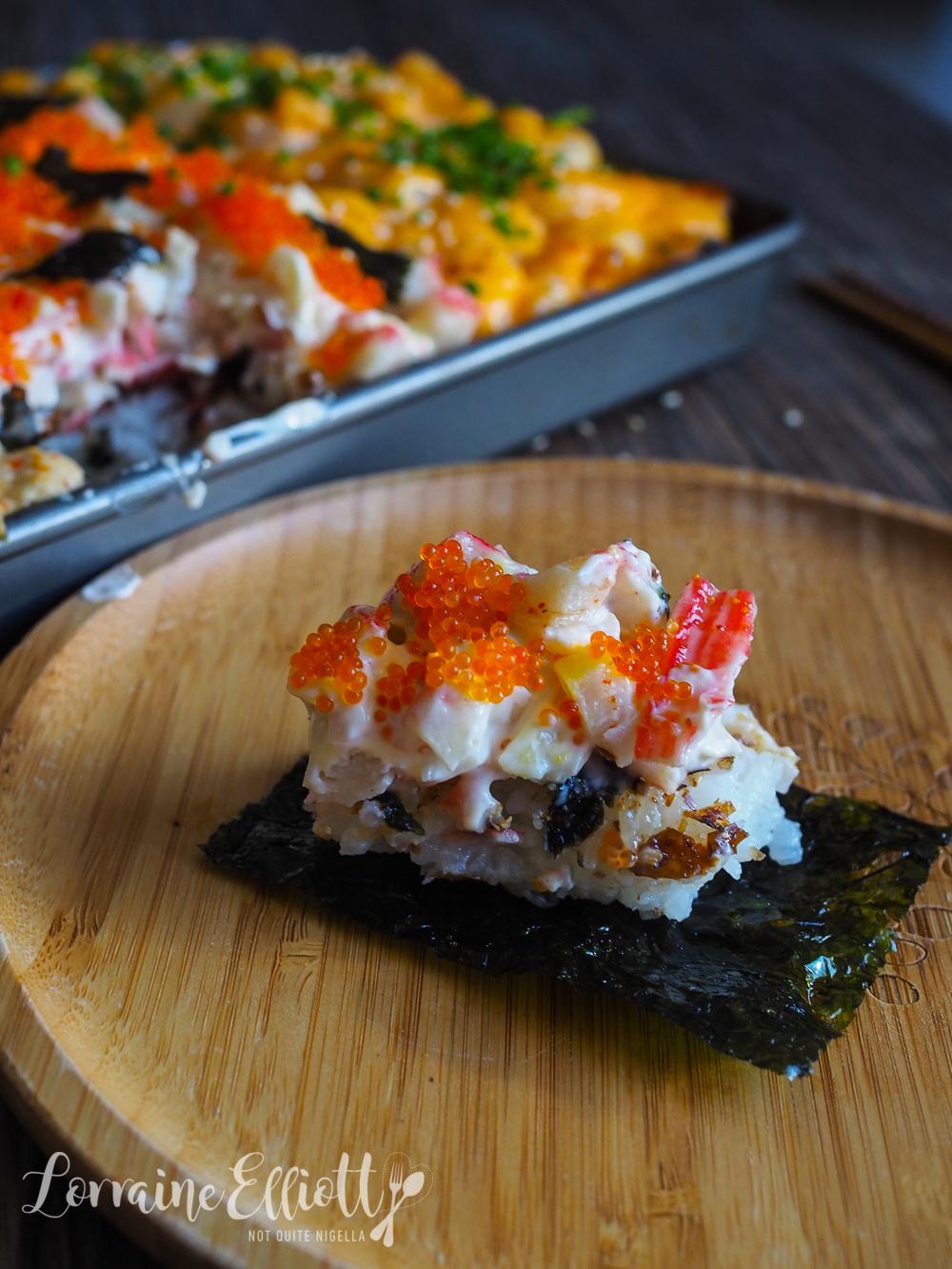 Sushi Bake Recipe
