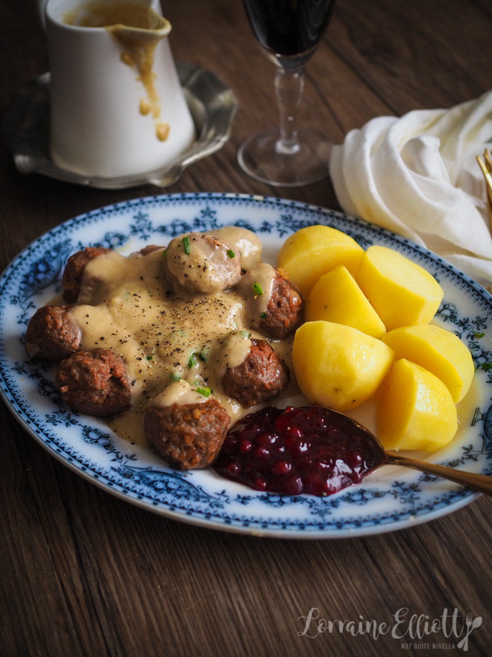 Plant Based Swedish Meatballs Vegan