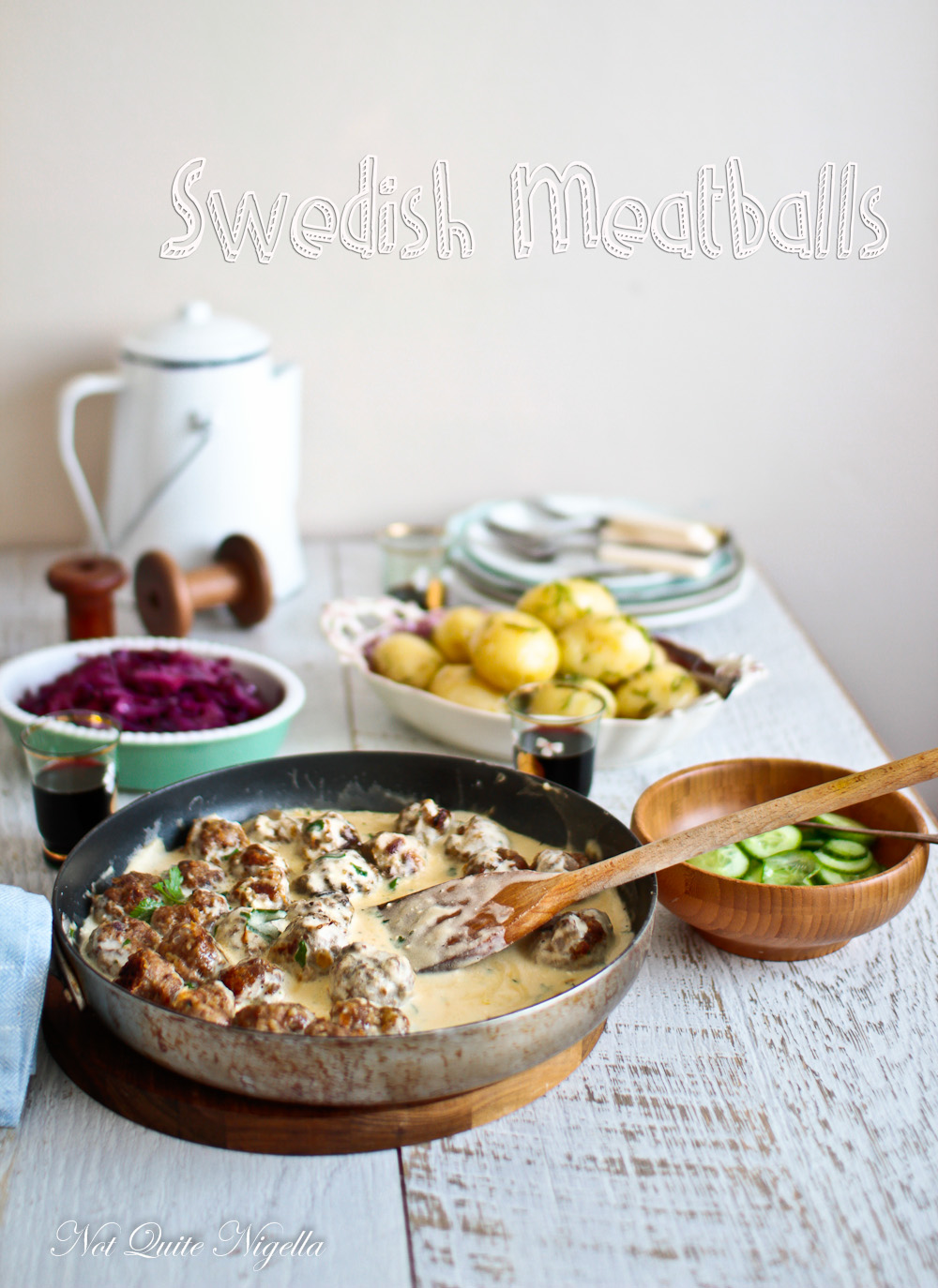 Swedish Meatball Recipe Dinner Not Quite Nigella