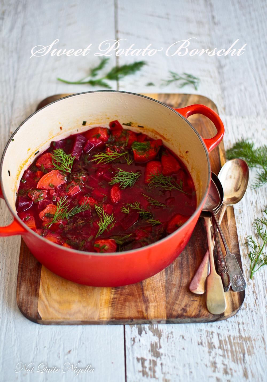 sweet potato borscht