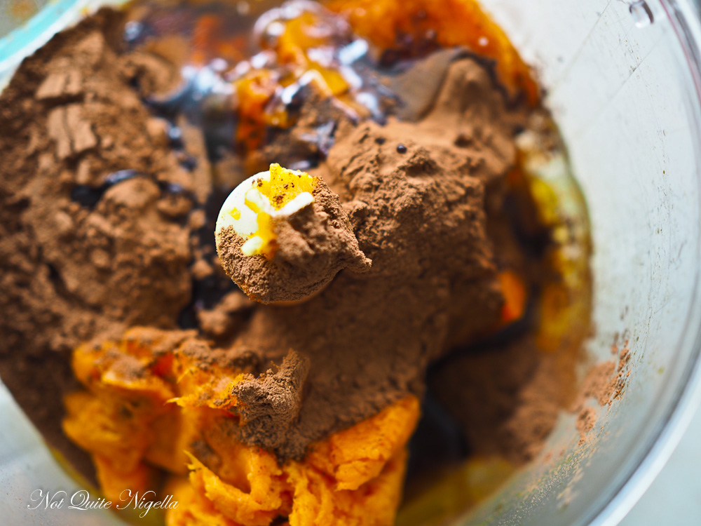 Sweet Potato Vegan Chocolate Cake
